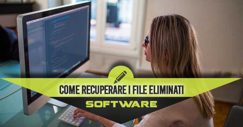 Come Recuperare I File Cancellati Dal Cestino Del Pc E Dal